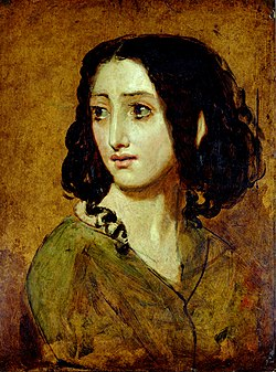 Mlle Rachel portréja (William Etty, 1840-es évek)