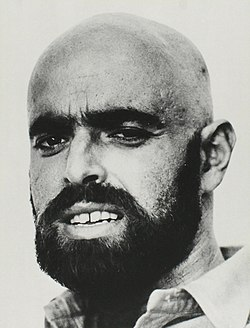 Portrait of Shel Silverstein in c. 1964 by Jerry Yulsman.jpg