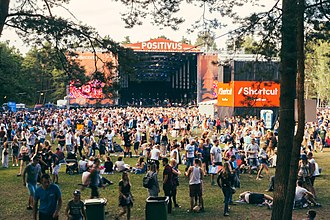 Positivus Festival - Main stage, sponsored by Lattelecom