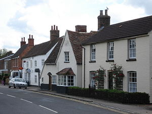 Great Barford - Image: Post Office and High Street, Great Barford geograph.org.uk 449735
