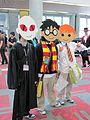 Potter Puppet Pals cosplayers at FanimeCon 2010-05-30 2.JPG