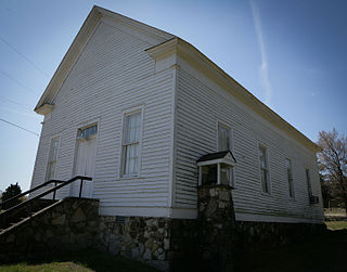 Powhatan Methodist Church church building in Arkansas, United States of America