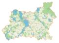 Powiat giżycki location map.png