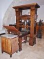 Prensa de Gutenberg. Réplica..png
