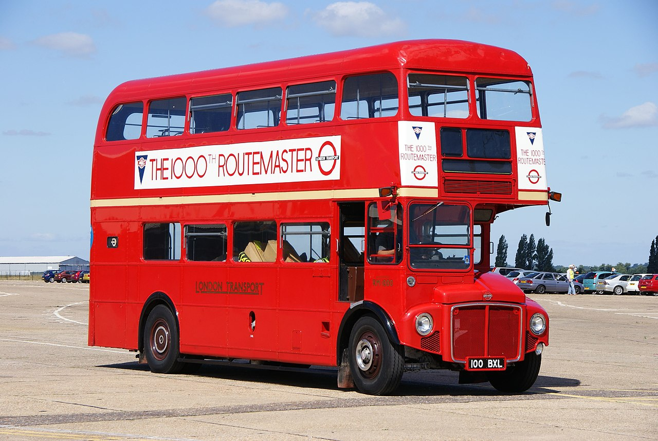 File Preserved Routemaster Bus Rm1000  100 Bxl   2010 North Weald Bus Rally  1  Uncropped Jpg