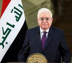 President of Iraq - Image: President Fuad Masum in Iran