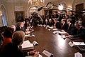 President George W. Bush meets with his Senior Advisors.jpg