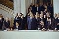 President Richard Nixon and General Secretary Leonid Brezhnev signing the ABM Treaty.jpg