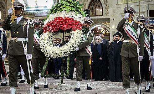 President Rouhani in Mausoleum of Ruhollah Khomeini 02