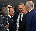 President Rumen Radev heads the Bulgarian delegation to the Meeting of the Heads of State and Government of the NATO Member States in Brussels 2018 10.jpg