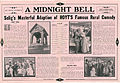 Press sheet for A MIDNIGHT BELL, 1913 (Page 2).jpg