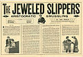 Press sheet for THE JEWELED SLIPPERS, 1913 (Page 1).jpg