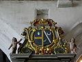 Primelin (29) Chapelle Saint-Tugen Retable de Sainte-Barbe 03.JPG