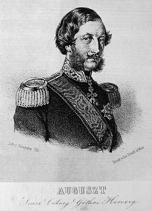 House of Saxe-Coburg and Gotha-Koháry - Image: Prince August of Saxe Coburg and Gotha