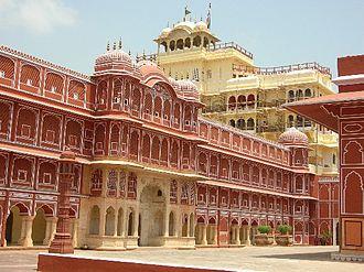Rajput - Chandramahal in City Palace, Jaipur, built by Kachwaha Rajputs