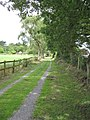 Private Road and Footpath - geograph.org.uk - 1388486.jpg