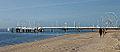 Promenade sur la plage d'Arcachon en hiver - Walk on the beach in Arcachon in winter (11477398813).jpg