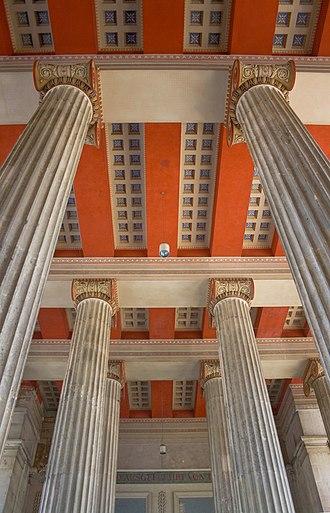 Propylaea (Munich) - Propylaea at Königsplatz, interior