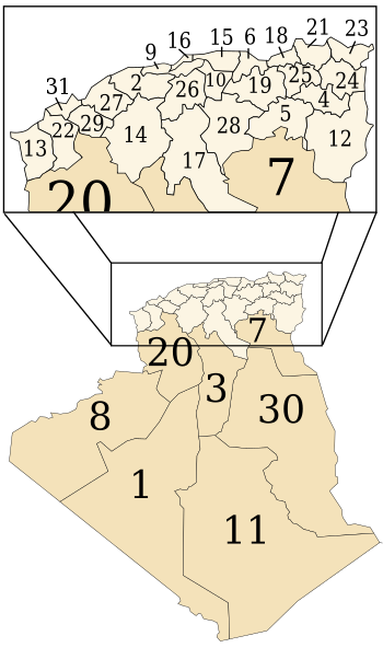 Provinces of Algeria (1974-1983).svg