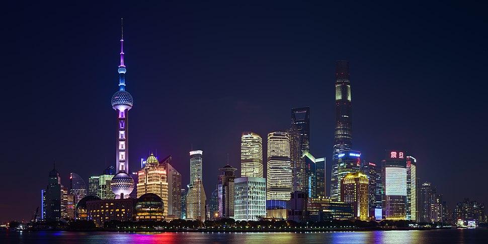 Pudong Shanghai November 2017 HDR panorama