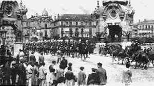 María Cristina Bridge - Welcome to Spanish Royalty, January 20, 1905.