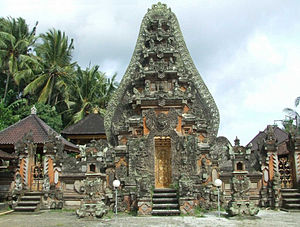 Negara: The Theatre State in Nineteenth-Century Bali - Pura Dalem Sidan (temple)