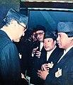 Purna Nepali with King Birendra Bir Bikram Shah.jpg