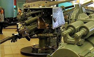 QF 4 inch naval gun Mk IV, XII, XXII - Image: QF 4 inch Mk IV gun IWM
