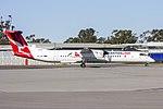 QantasLink (VH-QOI) Bombardier DHC-8-402Q taxiing at Wagga Wagga Airport.jpg