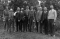 Queensland State Archives 3851 Group at Pasture Improvement Experiment Plots Lawnton 5 November 1931.png