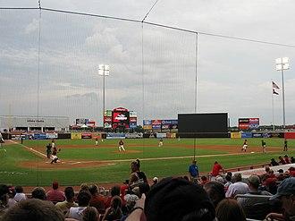 AirHogs Stadium - Image: Quiktrip airhogs 2