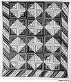 Quilt, Log Cabin pattern, Light and Dark variation MET 200587.jpg