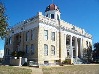 Quincy, Florida - Gadsden County Courthouse in Quincy