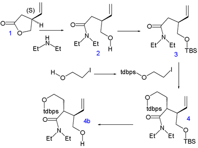 Stork Quinine synthesis