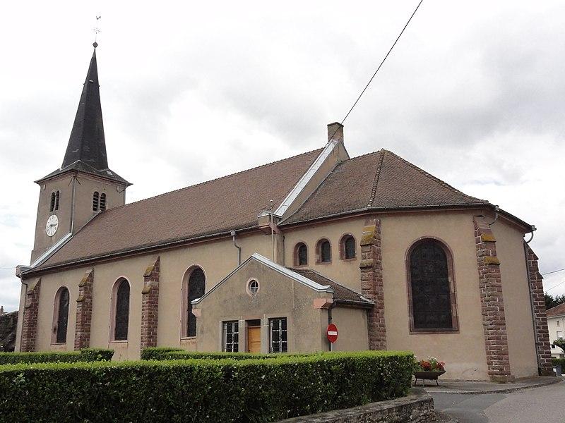 Réchicourt-le-Château (Moselle) église