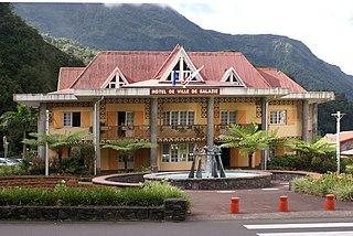 Salazie Commune in Réunion, France