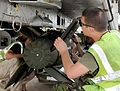 RAF Technician Checks Enhanced Paveway III Bomb MOD 45152769.jpg