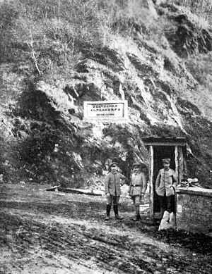 "Alpenkorps (German Empire) - Roter-Turm-Pass ""Deutsches Alpenkorps 26.-29.9.1916"""