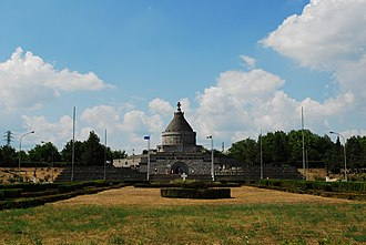 Battle of Mărășești - Image: RO VN Marasesti mausoleum 1