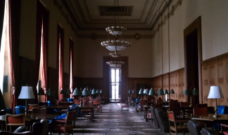 Horace H. Rackham School of Graduate Studies - The Reading Room is one of study areas in the Rackham building.