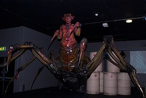 The Runaway Bride (Doctor Who) - The Racnoss as shown at the Doctor Who Experience.