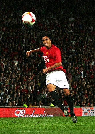 Rafael (footballer, born 1990) - Rafael playing for Manchester United