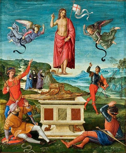Ficheiro:Raffaello Sanzio Auferstehung Christi Sao Paulo.jpg
