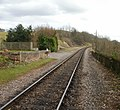 Railway line heading southeast from Stogumber station - geograph.org.uk - 1770612.jpg