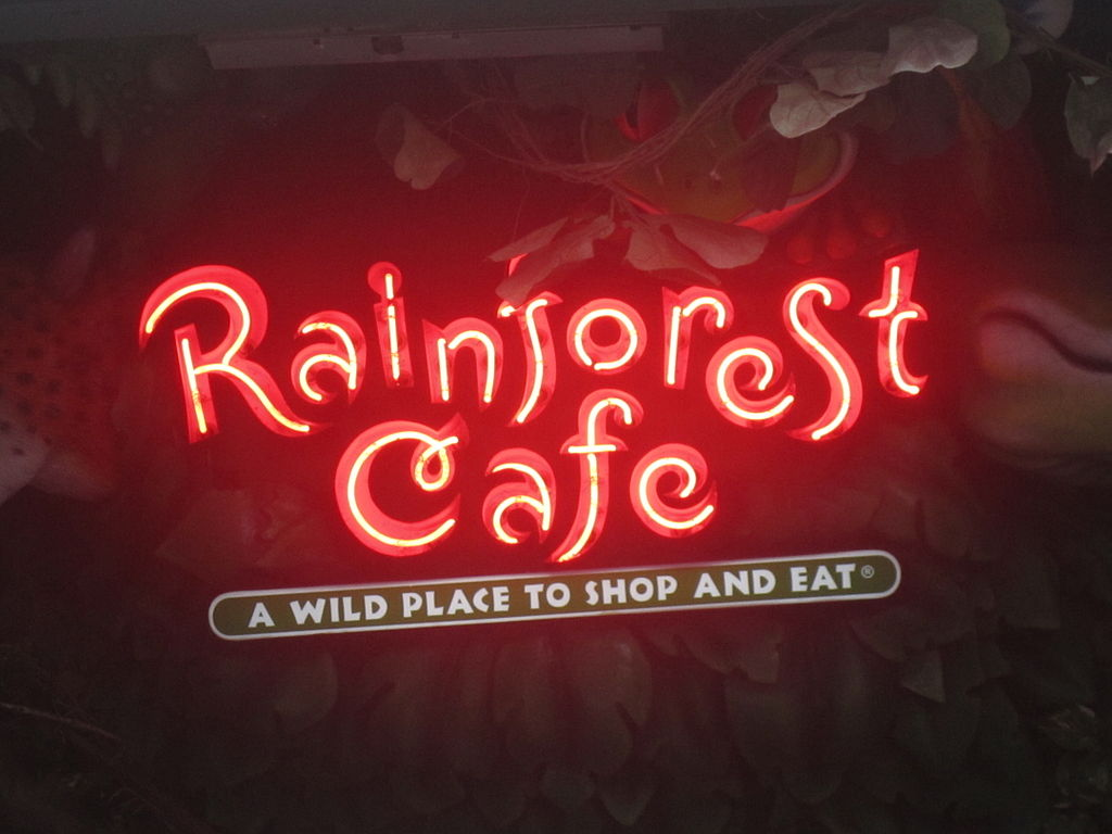 Rainforest Cafe San Antonio Texas Menu