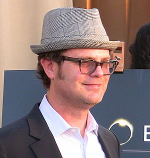 English: Actor Rainn Wilson at Heroes for Auti...