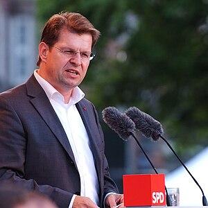 Ralf Stegner, SPD chairman of Schleswig-Holstein