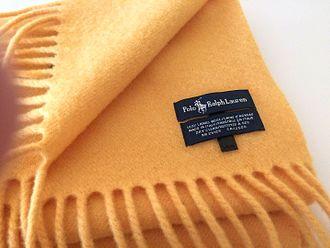 Ralph Lauren Corporation - A woolen Polo Ralph Lauren scarf