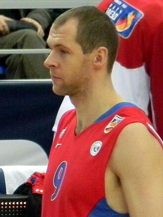 Ramūnas Šiškauskas - Šiškauskas, while a player of CSKA Moscow, in 2011.