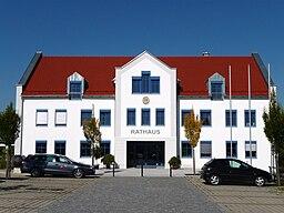 Das Rathaus von Kumhausen
